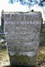 1835 Headstone Nancy Hurst Heflein